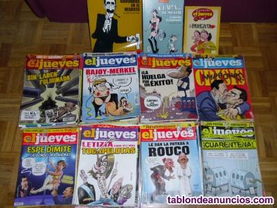 El Jueves, Revistas colección