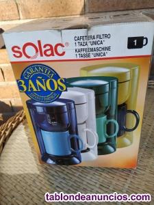 Cafetera una taza Solac