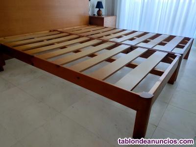 Somieres de madera 90x190cm