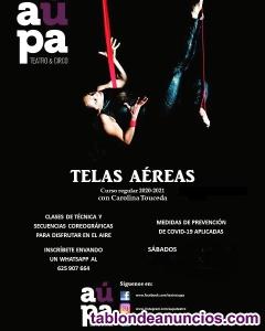 Clases de tela y trapecio en Madrid