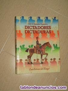 DICTADORES y DICTADURAS.