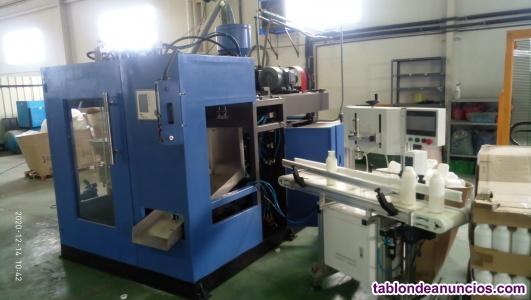 Venta de maquinaria de industria plástica de soplado e inyección