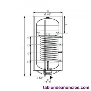 Aparici termo electrico 100 litros con acumulador