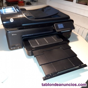 Impresora scaner fax DINA· HP officejet 7500a wide fomat