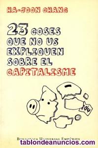 23 coses que no us expliquen sobre el capitalisme