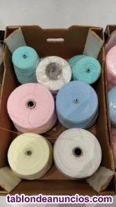 Vendo lana en cono desde 10€ el kilo