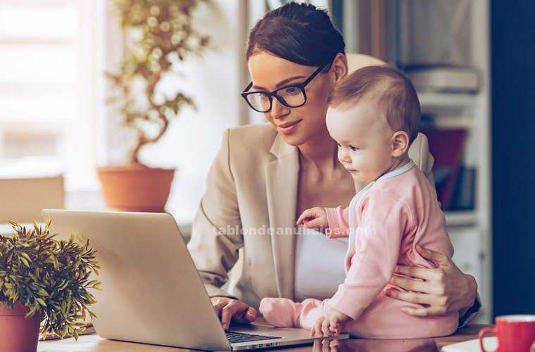 TRABAJO para mamas