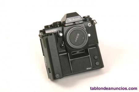 Cuerpo Nikon F3 con motor