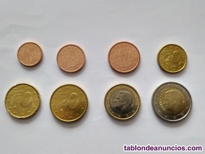 Serie completa de 8 valores de euro españa 2020