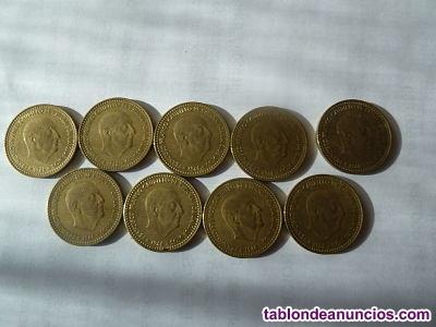 Coleccion completa monedas 1 peseta año 1966