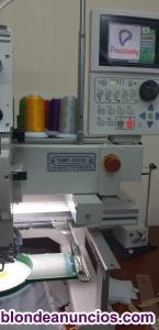 Máquina de bordar Tajima 1 cabezal y 15 agujas