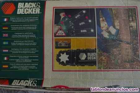 MOTOSIERRA ELÉCTRICA: BLACK&DECKER