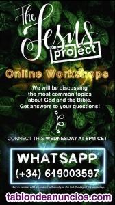 Jesus Project Free Online Workshop