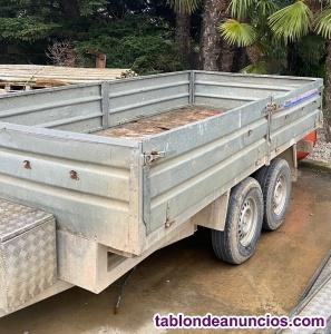 Remolque 2000kg carga