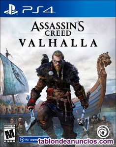 Juego ps4 Assassin's Creed: Valhalla Ps4