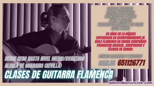 Clases de guitarra flamenca Alcalá de Guadaira