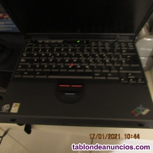 Vendo portatil IBM Thiikpad