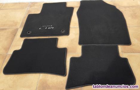 Alfombrillas textiles originales Toyota C-HR sin usar, totalmente nuevas.