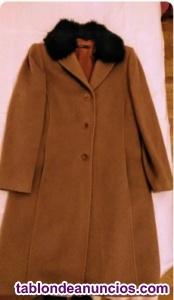 Abrigo de lana de merino de mujer