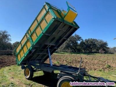 Remolque agricola/cereal basculante SN 8TN