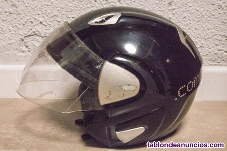 Casco de moto tipo jet, Helix Helmets, talla XL