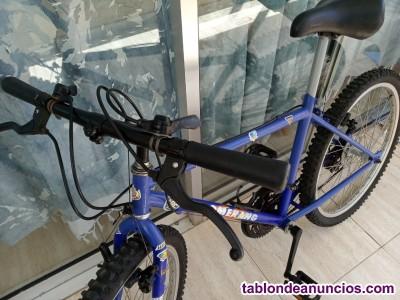 Bicicleta de montaña pequeña