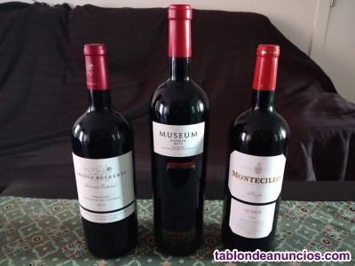 Lotes botella de Vino