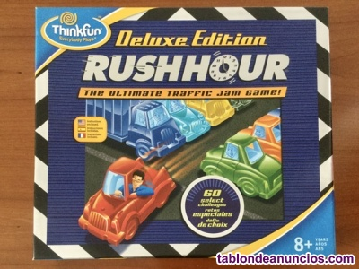 RUSHHOUR juego de lógica. Edición de lujo