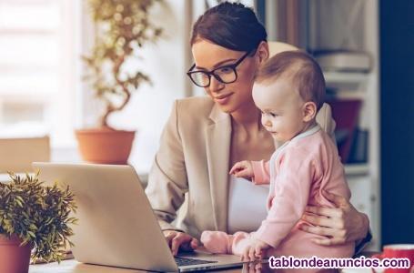 Trabajo para mamas y embarazadas