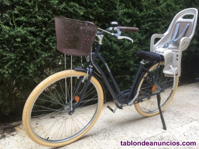 Sillín para niños portabebés para bici