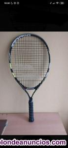 Vendo raqueta babolat Nadal jr 23 con funda incluida