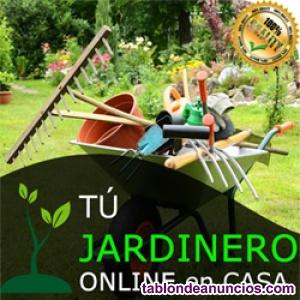 Curso de jardinería en CASA