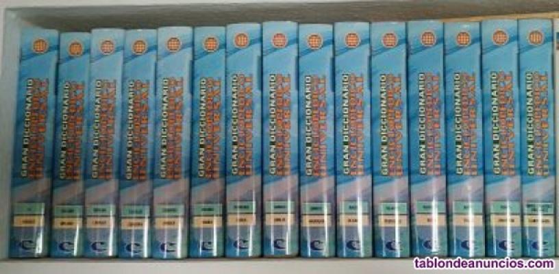 Diccionario enciclopédico universal. 15 tomos