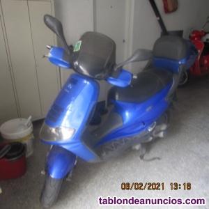 Vendo motocicleta por no usar,