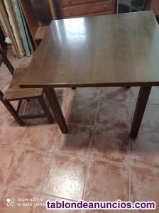 4 mesas y 16 sillas de hostelería