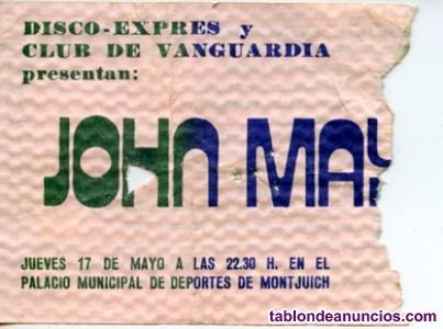 Entrada concierto john mayall
