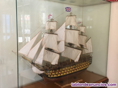 Maqueta barco queen victory