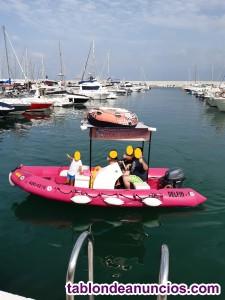Embarcacion zodimar con motor 15 HP yamaha 4t