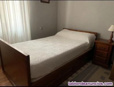 Cama NIDO. 1,05 x 1,90. Con cama inferior, abatible de 90 cms.