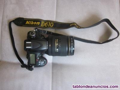 Nikon D610 más objetivo 24-120 mm F4 G ED VR AF-S