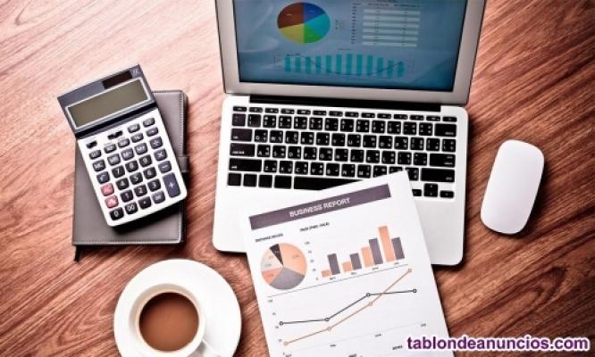 Clases online contabilidad, matematicas financieras, y estadistica.