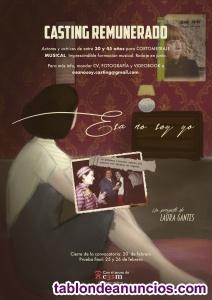 Casting actrices cortometraje musical lgtb remunerado