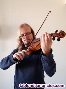 Clases de violín en Inglés o Castellano