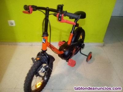 Vendo bicicleta de niño negociable