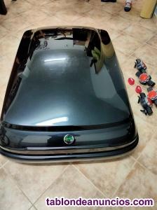 Cofre de techo para coche. Usado una sola vez.