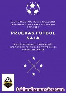Se buscan jugadores senior para Preferente 2021/2022