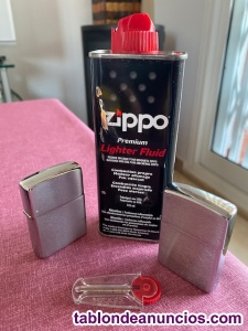 2 mecheros Zippo auténticos