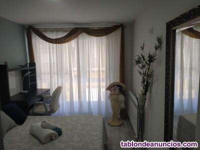 Alquiler habitación luminosa en piso nuevo, WIFI