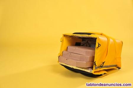 Repartidor de comida autónomo con moto en madrid
