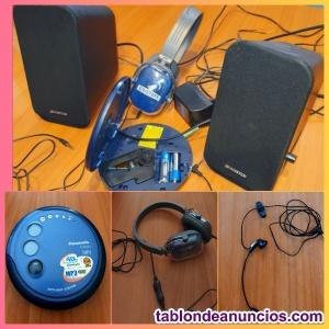 Panasonic SL-SX420 CD/MP3 sistema anti-Skip con recargador integrado